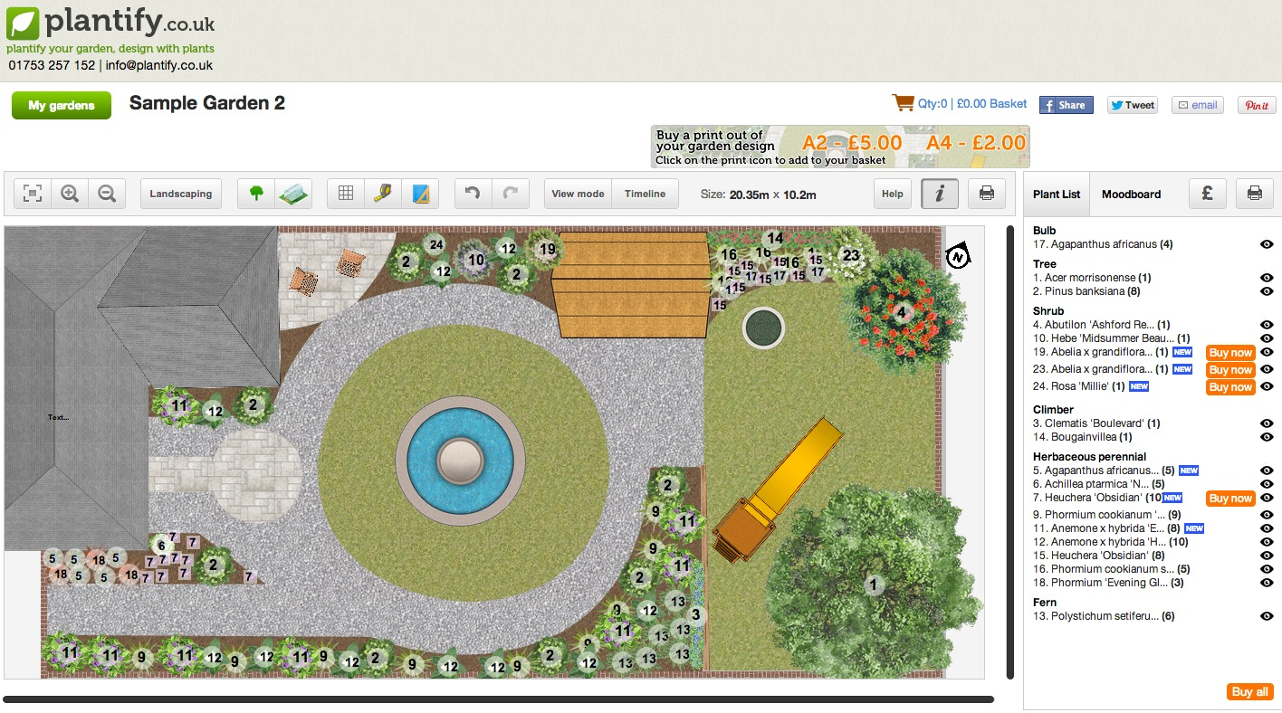 Garden Planning Tool Design With My Fence
