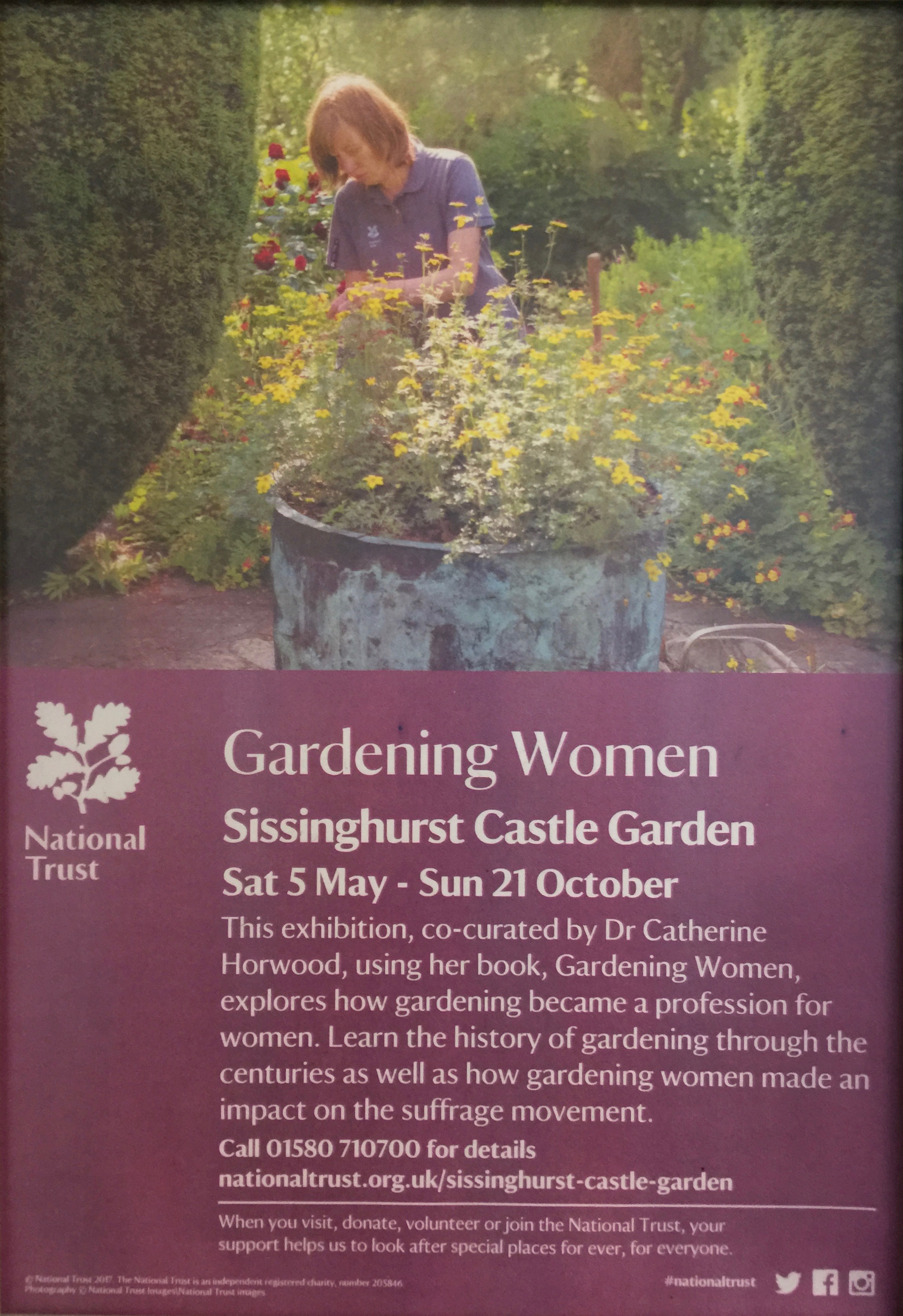 National Trust Gardening Women